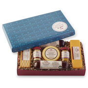 Sausage and Cheese Gift Box with Happy Birthday Lid