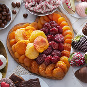 Alternate view of Heart Dried Fruit Tray
