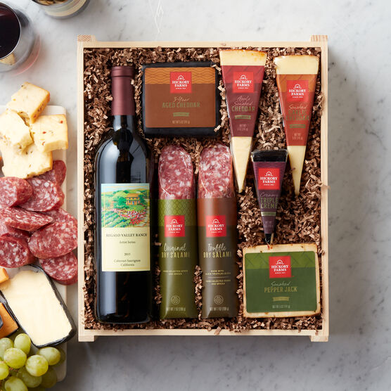 Grand Charcuterie & Cheese Gift Crate