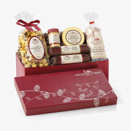 Hickory Farms Holiday Treasure Chest
