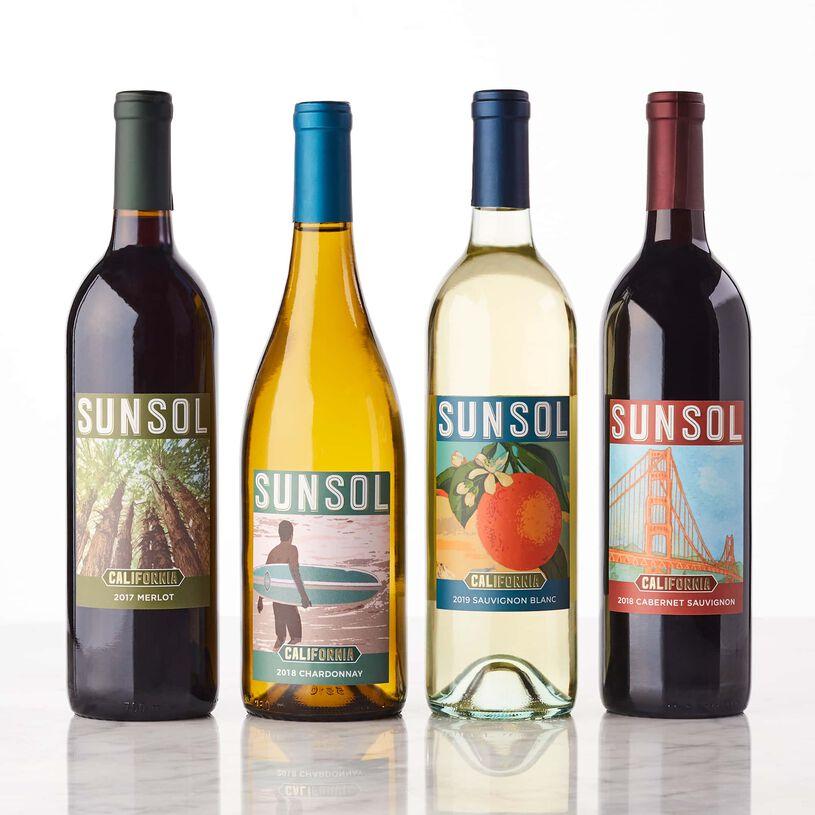 Sunsol California Wine Gift Set