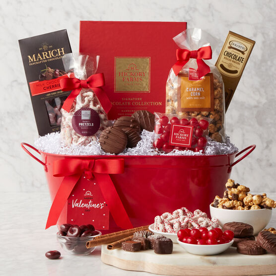 Alternate view of Deluxe Valentine's Day Gift Basket
