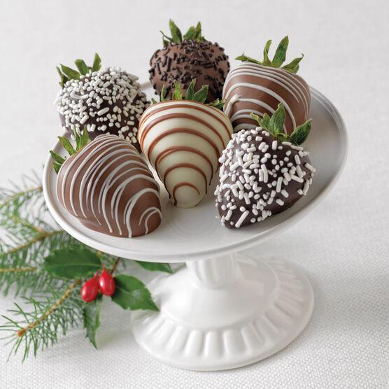 Chocolate Covered Strawberries 6 Ct.