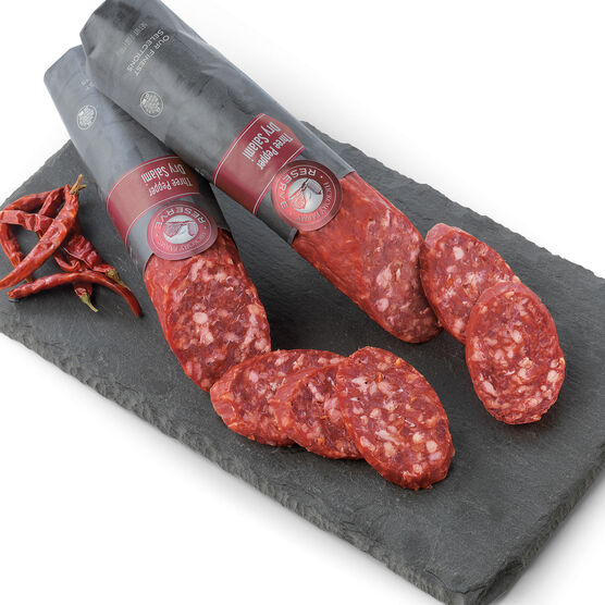 Artisanal Three Pepper Dry Salami