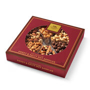 Hickory Farms Sweet & Salty nut Sampler includes a variety of mixed nuts