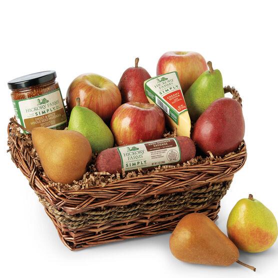 Simply Holiday Harvest Fruit Basket