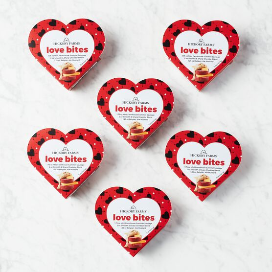 Share the Love Sampler - 6 Pack (6 Heart Shaped Boxes)