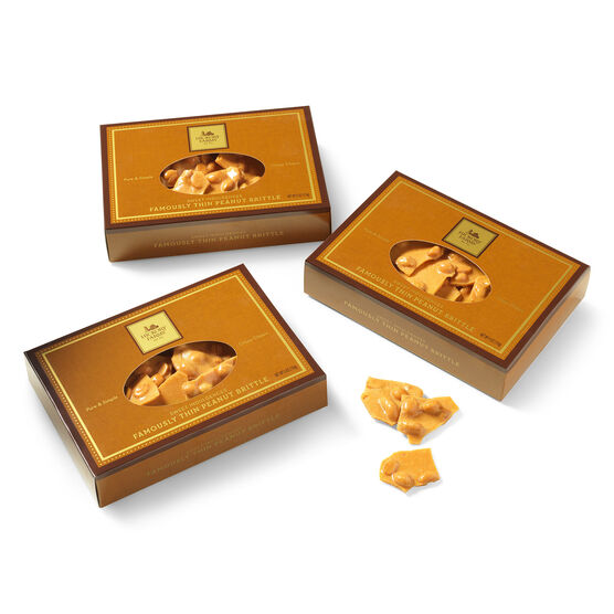 Famously Thin Peanut Brittle