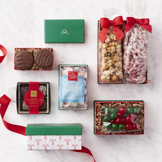 Alternate view of Holiday Sweets Gift Tower