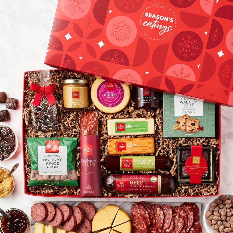 Season's Eatings Charcuterie & Chocolate Gift Box