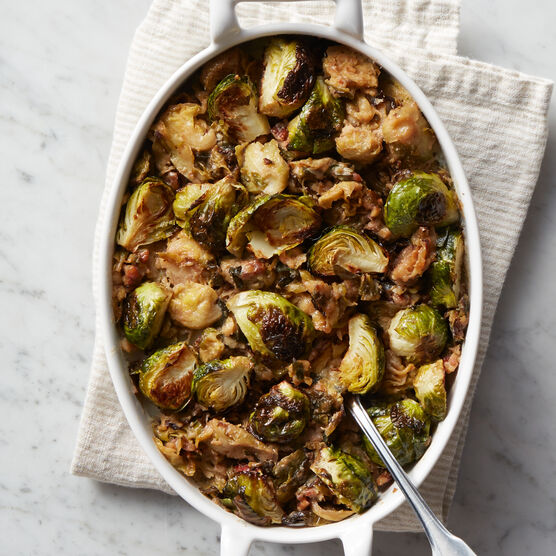Alternate View of Brussel Sprouts