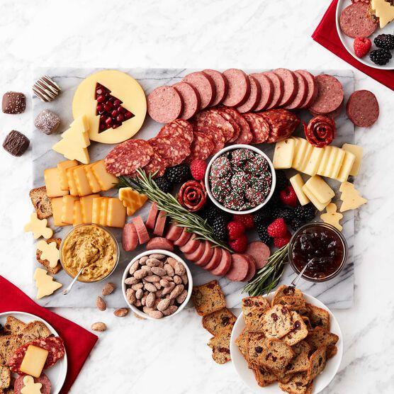Season's Eatings Charcuterie & Chocolate Gift Box Charcuterie