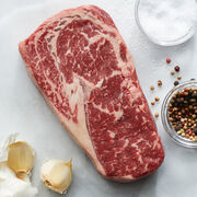 14 oz. Boneless Ribeye. Ships frozen & raw