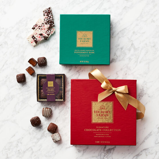 Holiday Chocolates Gift Set Box Contents