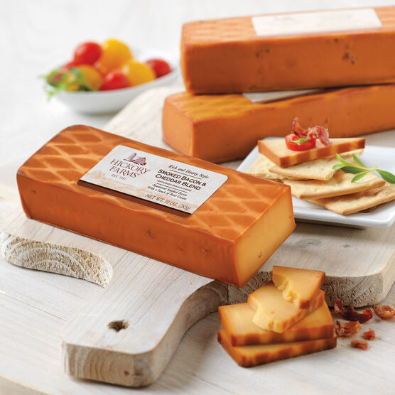 smoked bacon & cheddar cheese blend - 3 pack