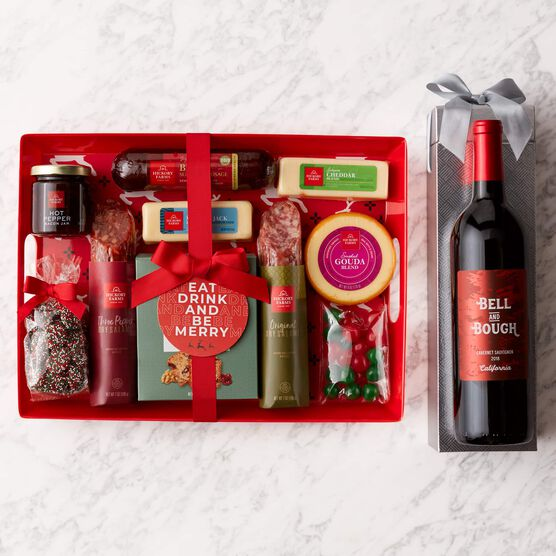 Alternate view of Holiday Entertaining Gift Set with Wine