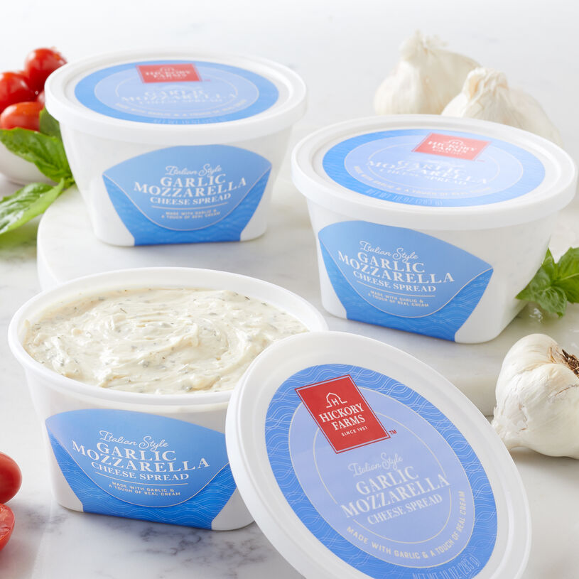 Garlic Mozzarella Cheese Spread