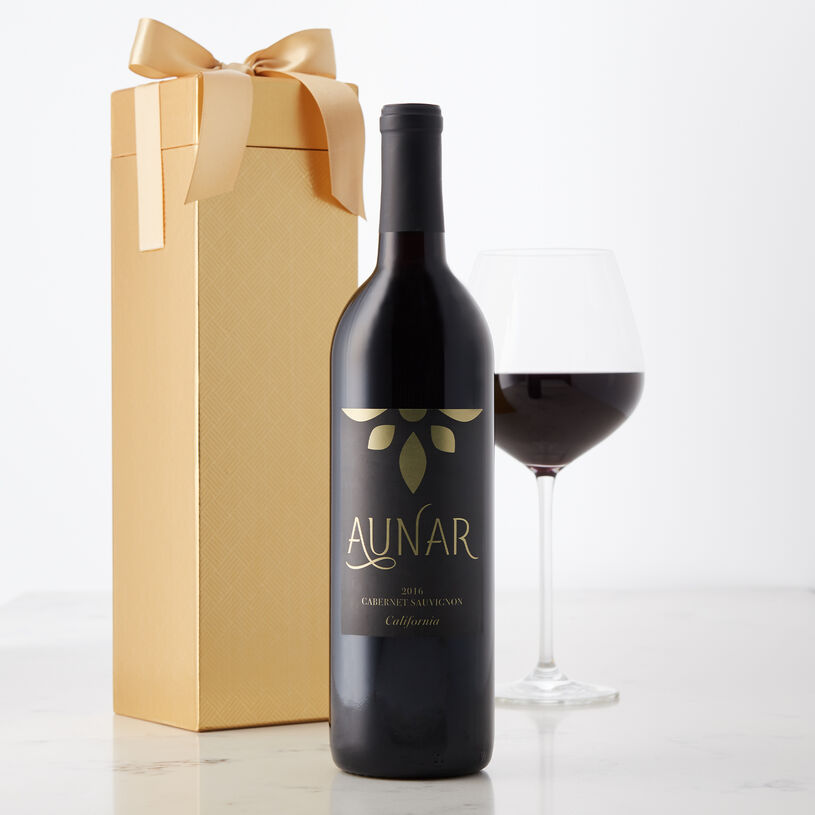 Dark and ruby purple, this robust wine has a smooth berry flavor with aromas of dark cherries and vanilla.