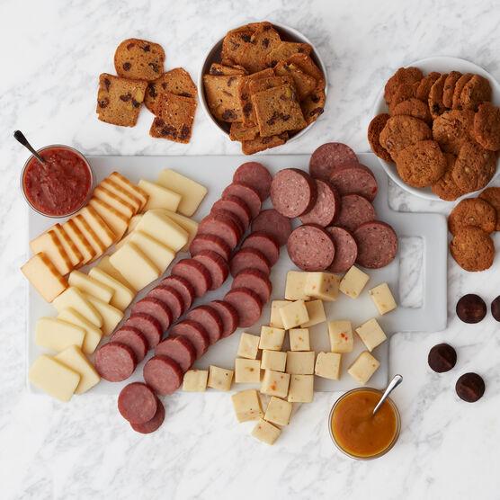 Premium Harvest Flavors Gift Basket Charcuterie