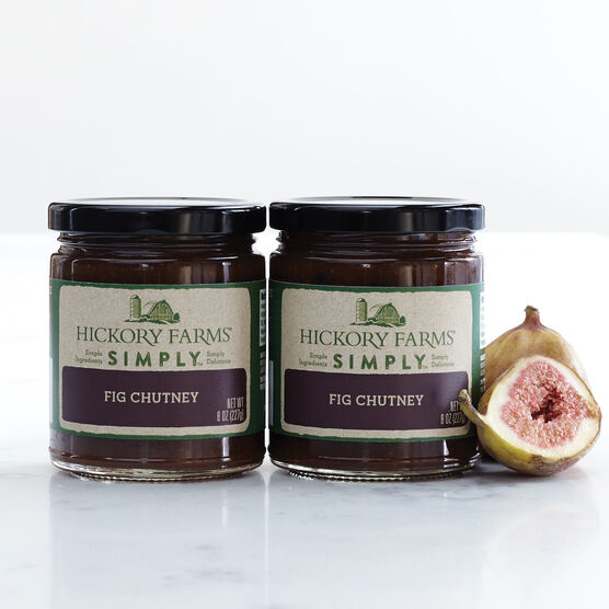 100% natural fig chutney - 2 pack