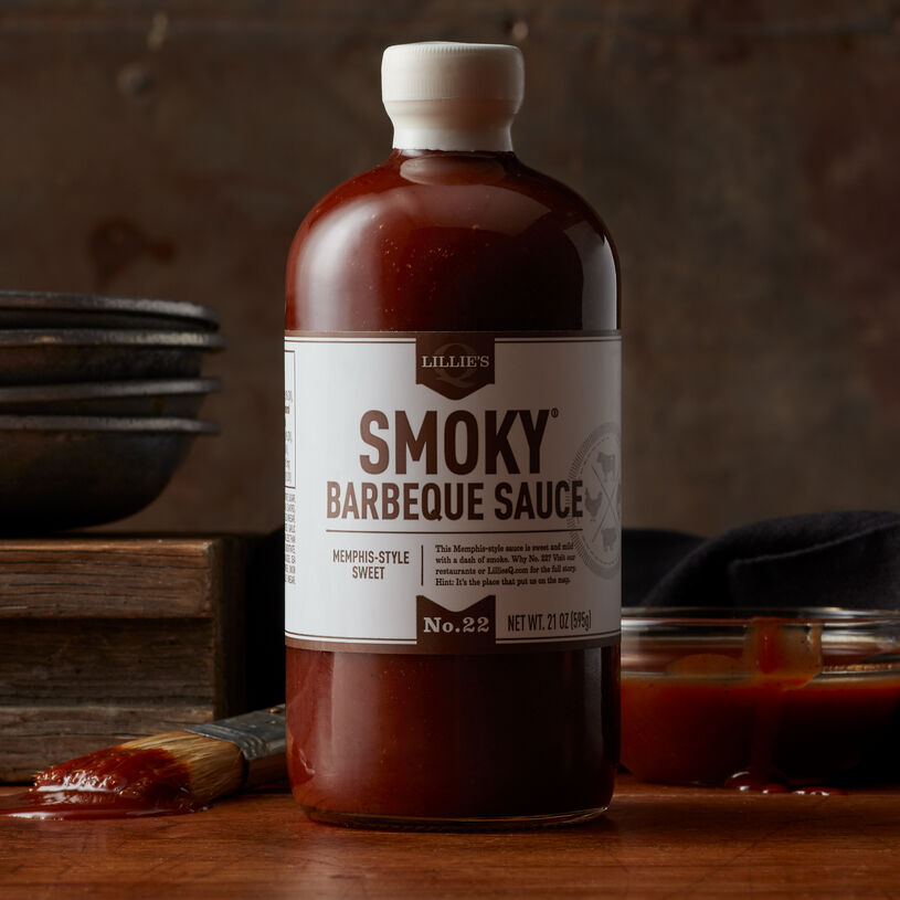Barbeque sauce fans will love this Memphis-style sauce crafted by Lillie's Q. It's sweet and mild with a hint of smoke that makes it perfect with it ribs and smoked chicken.