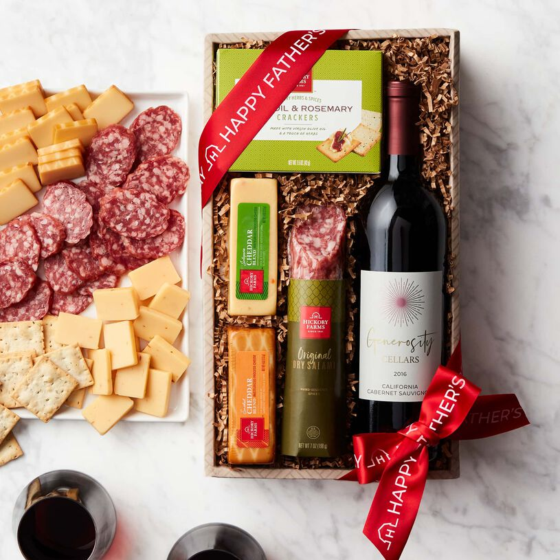 Father's Day Wine & Savory Snack Collection