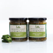 sweet and spicy relish with turmeric and ginger