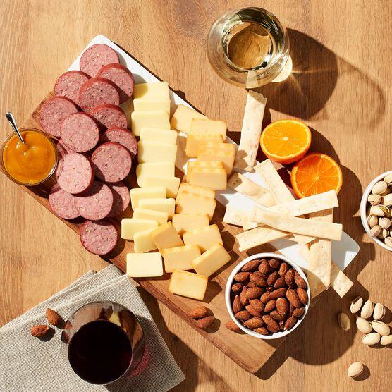 Alternate view of California Coast Snacks & Wine Gift Set