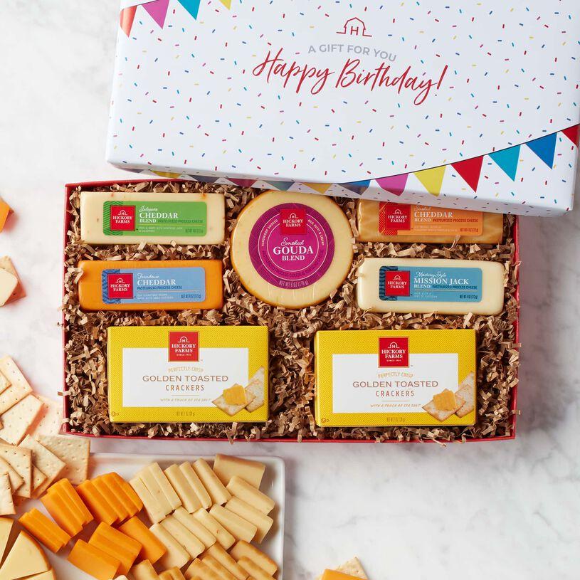 Birthday Cheese Favorites Gift Box
