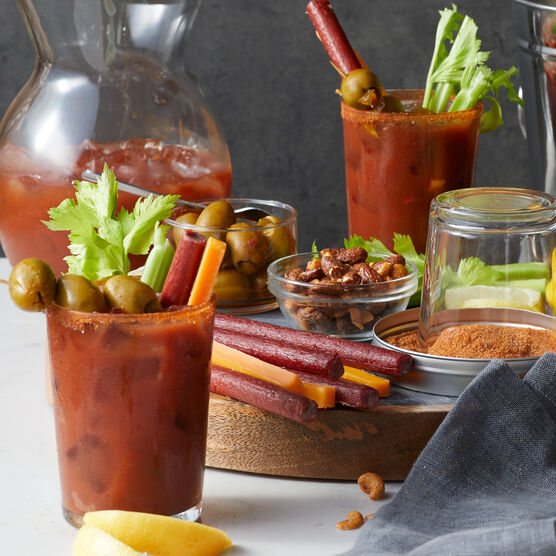 Alternate View of Gourmet Bloody Mary Gift Basket