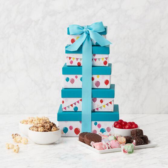 Alternate view of Happy Birthday Gift Tower