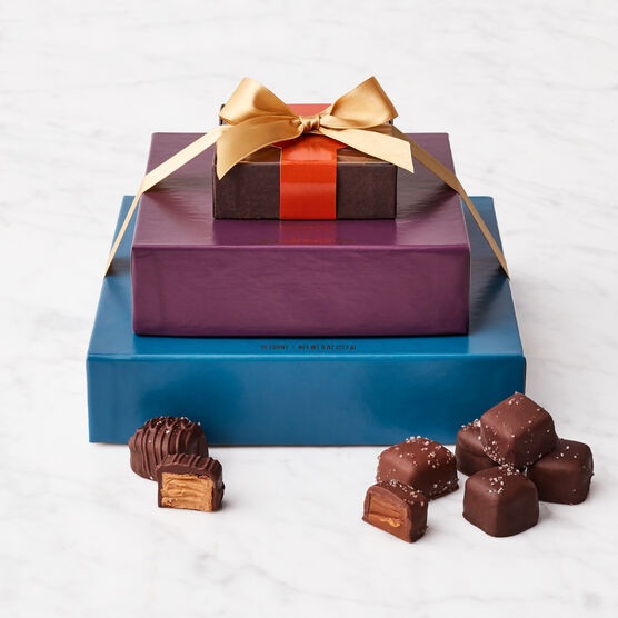 Classic Chocolates Gift Set Stacked