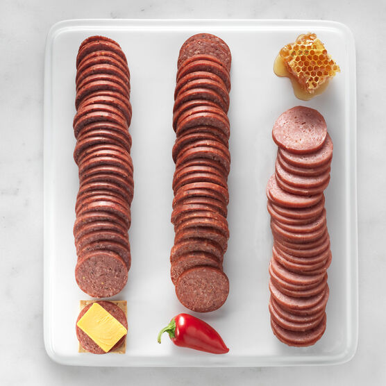Turkey, Beef, and Spicy Summer Sausage