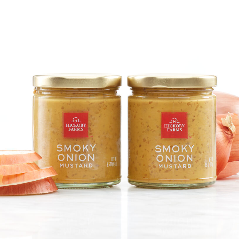 Natural smoke flavor and crisp onions create this specialty mustard that you'll want to try on everything.