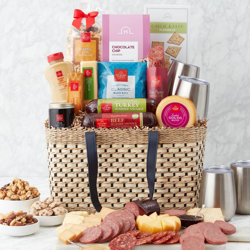 Deluxe Gourmet Picnic Gift Basket