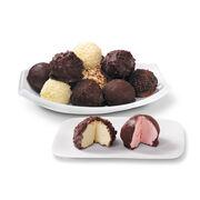 Creamy and refreshing Italian ice cream truffles