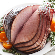 Alternate View of Slow cured with a touch of real honey, our HoneyGold® Ham is sure to be the crown jewel of any party spread.