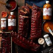 Deluxe Pork Ribs & Complete Barbeque Gift Set