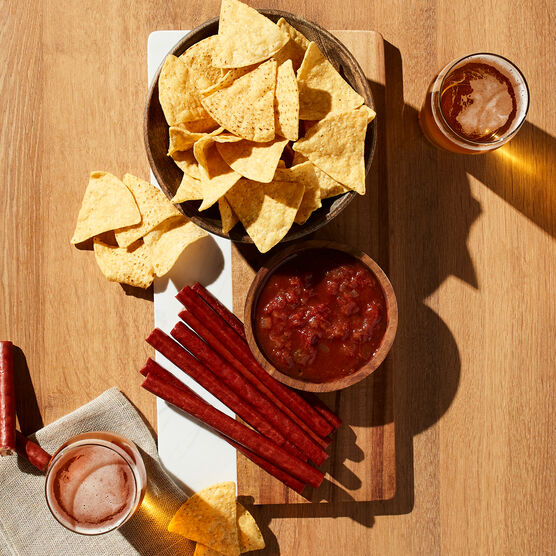 California Craft Beer Gift Basket - Chips and Salsa