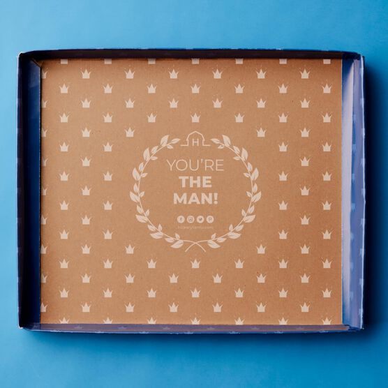Father's Day All Time Favorites Gift Box Lid Interior