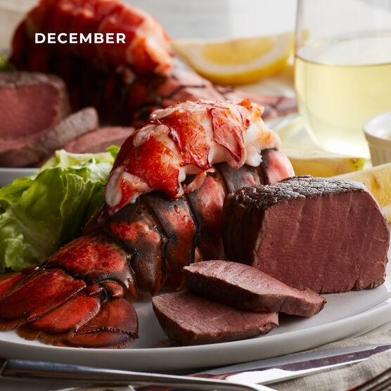 Alternate View of Grand Steakhouse Favorites - 4 Month Plan - Lobster
