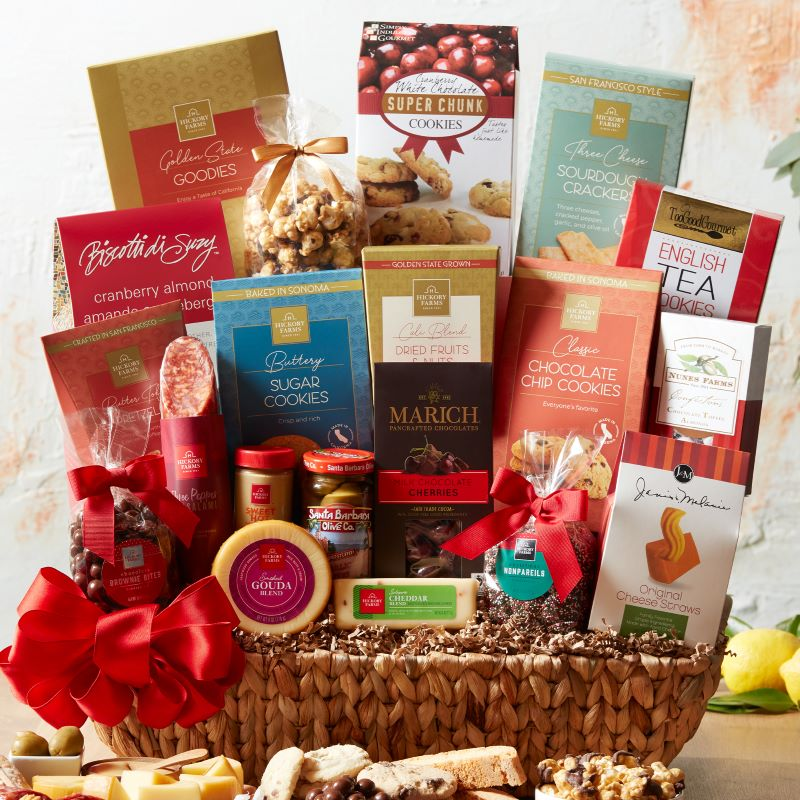 California Holiday Cheer Gift Basket