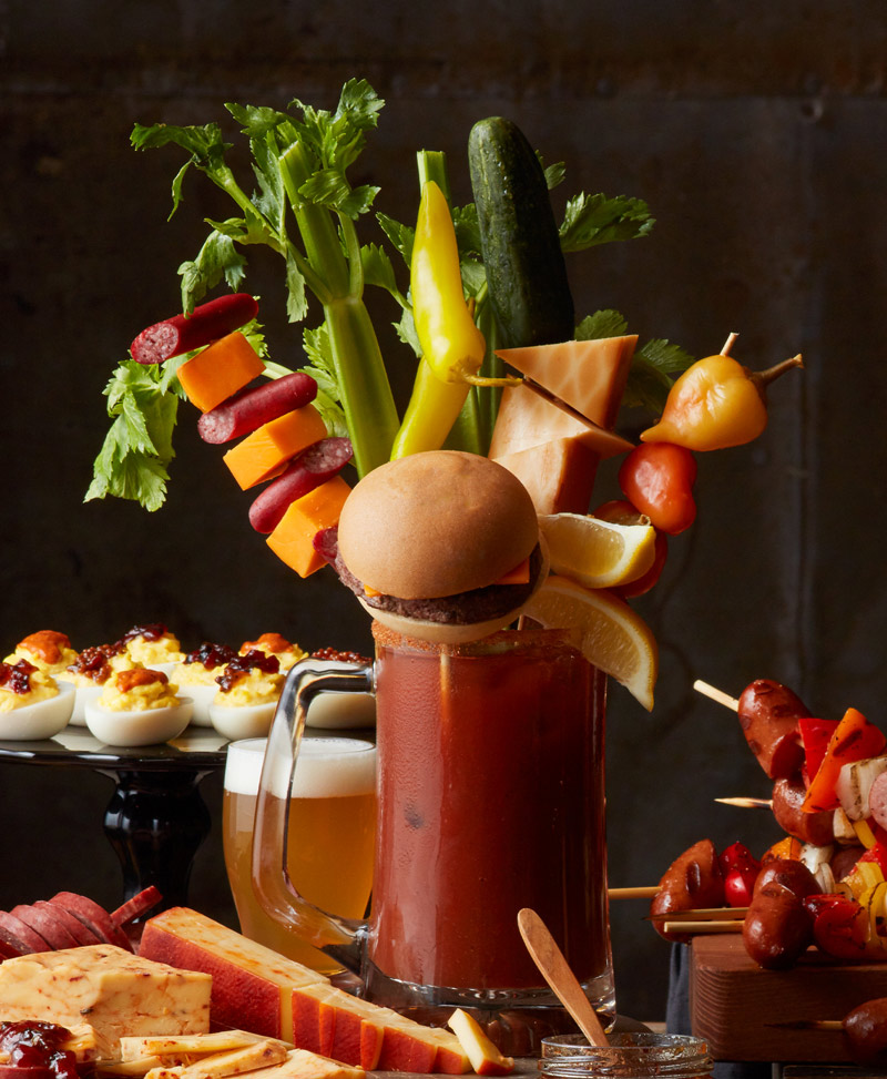 Ultimate Game Day Watch Party - Bloody Mary Bar
