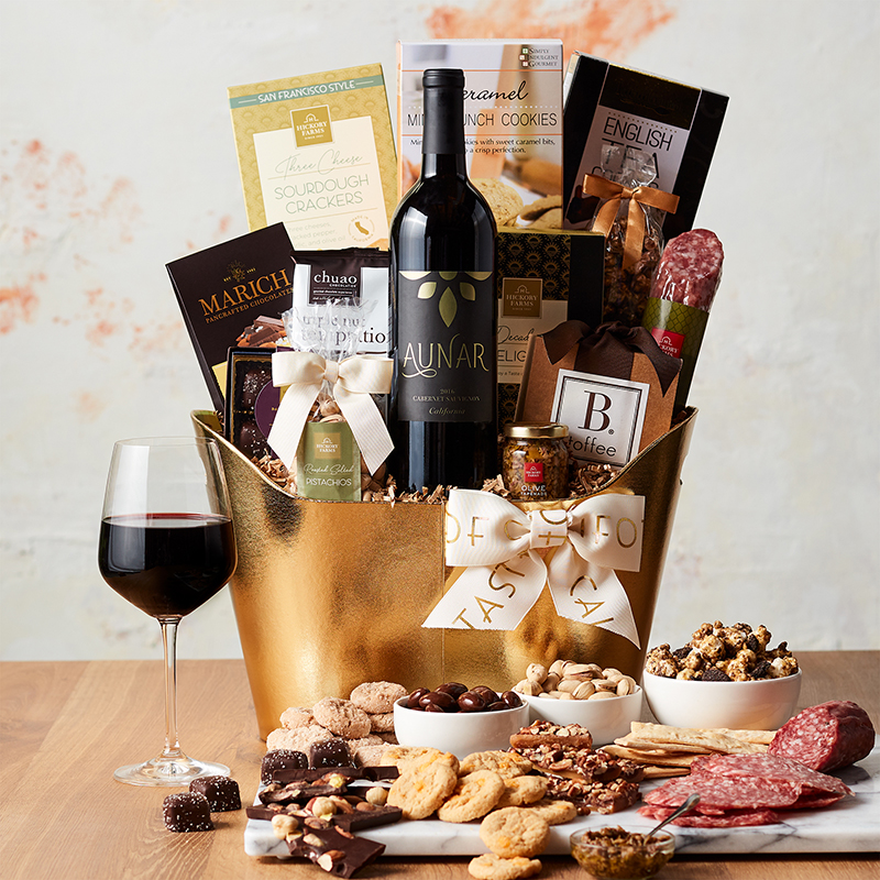 California VIP Wine Gift Basket
