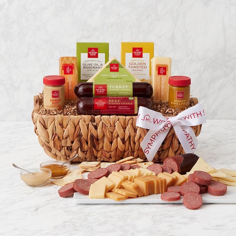 Sympathy Signature Bites Gift Basket
