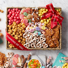 thinking of you sweets gift basket