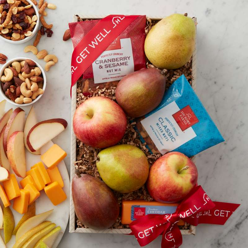 Top Gifts for All Occasions - Get Well Fruit & Snack Assortment