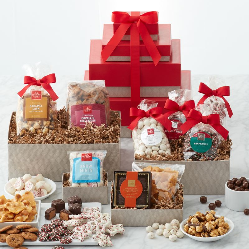 Guide to Holiday Business Gift Ideas - Sweet Treats Gift Tower