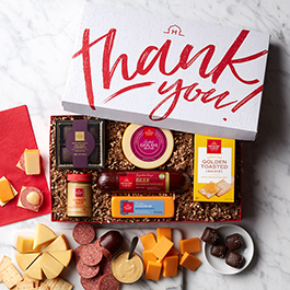 thank you sweet savory gift box