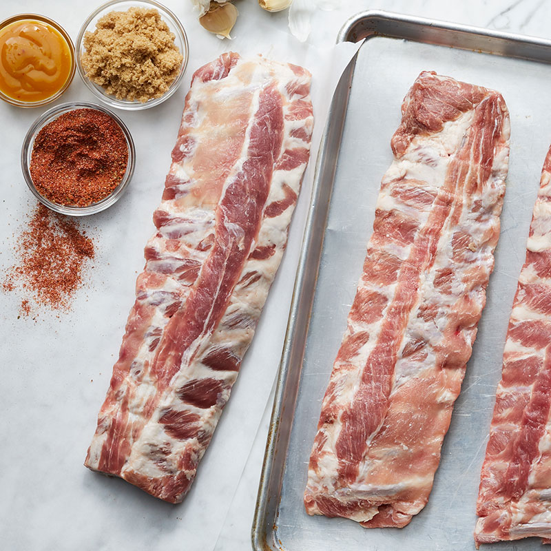 How to cook ribs with a dry rub
